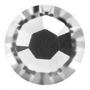 Swarovski Elements flache Steine Hotfix SS30 Crystal foiled 10 Stück