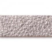 Lederstreifen für Armband 1,25x25cm Antiqued Silver
