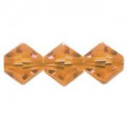 Swarovski Elements Perlen Bicones 3mm Sun 50 Stück