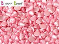 Button Beads 4mm Pastel Pink ca 50 Stück