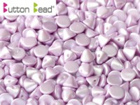 Button Beads 4mm Pastel Light Rose ca 50 Stück