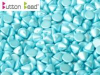 Button Beads 4mm Pastel Aqua ca 50 Stück