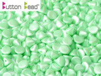Button Beads 4mm Pastel Light Green ca 50 Stück