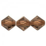Swarovski Elements Perlen Bicones 6mm Mocca 25 Stück