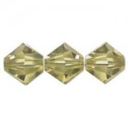 Swarovski Elements Perlen Bicones 6mm Lime 25 Stück