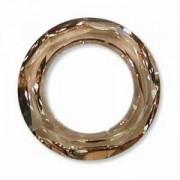 Swarovski Elements Cosmic Ringe 14mm Crystal Golden Shadow 1 Stück