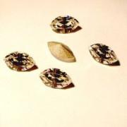 Swarovski Elements Steine Navette 4200 10x5mm Crystal 10 Stück