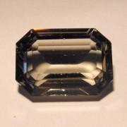 Swarovski Elements Steine Rechteck 18x13mm Black Diamond F 1 Stück