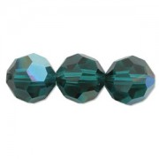 Swarovski Elements Perlen Kugeln 8mm Emerald