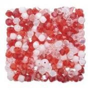 Swarovski Elements Perlen Bicones 4mm Mix Strawberry Fields 144 Stück