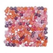 Swarovski Elements Perlen Bicones 4mm Mix Melonberry 144 Stück