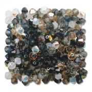 Swarovski Elements Perlen Bicones 4mm Mix Pebblestone 144 Stück
