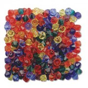 Swarovski Elements Perlen Bicones 4mm Mix transparent Rainbow 144 Stück
