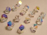 Swarovski Elements Perlen Simplicity Beads 5,5mm Crystal AB beschichtet 10 Stück