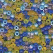 Miyuki Rocailles Beads 4mm Mix06 Lagoon ca 20 Gr.
