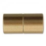 Magnetverschluss Bronze matt 14x12mm