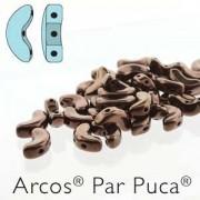 Arcos par Puca ® 5x10mm 23980-14415 Jet Bronze ca 10 gr