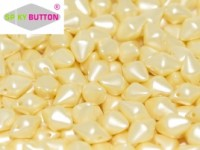 Spiky Button 4,5x6,5mm Alabaster Pastel Cream ca 50 Stueck