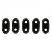 Bar-Beads 2x6mm Jet ca 10 g
