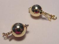 Perlenkettenschließe goldfarben
