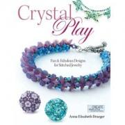 Perlenbuch Crystal Play von Anna Elizabeth Draeger englisch