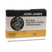 John James Beading Needles 25 Stück Größe 10