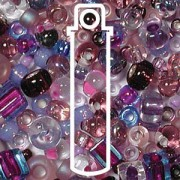 Beadsoup Perlensüppchen MIX 01 ca 22gr  Lilac