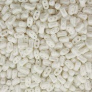 Bi-Bo-Beads 5,5x2,8mm White Luster ca 10gr