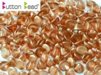 Button Beads 4mm Crystal GT Tangerine ca 50 Stück
