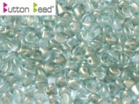 Button Beads 4mm Crystal GT Sky ca 50 Stück
