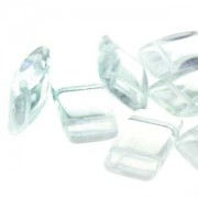 Carrier Beads 9x17mm Crystal 15 Stck