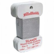 Silamide Pale Grey 40 yard Card ca 36m