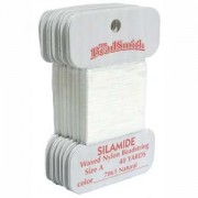 Silamide Natural 40 yard Card ca 36m