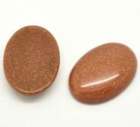 Cabochon Sandstone 40x30mm 1 Stück