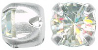 Swarovski Elements Chaton Montees 6mm Crystal 10 Stück
