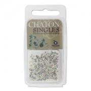 Chaton Steine PP17 Crystal AB beschichtet ca 3gr.