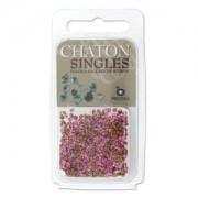 Chaton Steine PP17 Rose ca 3gr.