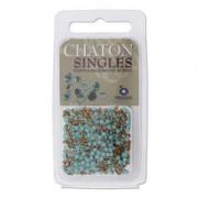 Chaton Steine PP17 Turquoise ca 3gr.