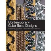 Perlenbuch Contemporary Cube Bead Designs von Virginia Jensen englischsprachig