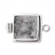 Verschluss Quadrat für Crystal Clay 15mm