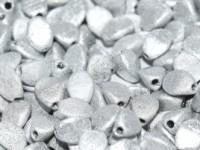 Pinch Beads 5x3mm Etched Labrador Full 50 Stück