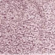 Miyuki Delica Beads 1,6mm DB1263 transparent matt Pink Mist ca 5gr