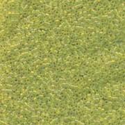 Miyuki Delica Beads 1,6mm DB1282 transparent matt rainbow Olive ca 5gr