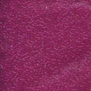 Miyuki Delica Beads 1,6mm DB1310 transparent dyed Fuchsia ca 5gr