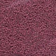 Miyuki Delica Beads 1,6mm DB1376 matt dyed opaque Wine ca 5 gr