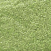 Miyuki Delica Beads 1,6mm DB1566 opaque luster Avocado ca 5gr
