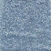 Miyuki Delica Beads 1,6mm DB1761 Sky Blue lined Opal ca 5 gr