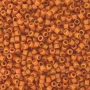 Miyuki Delica Beads 1,6mm Duracoat dyed Opaque Cedar DB2107 ca 7,2 gr