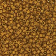 Miyuki Delica Beads 1,6mm Duracoat dyed Opaque Toast DB2110 ca 7,2 gr