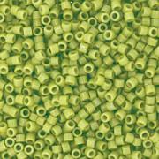 Miyuki Delica Beads 1,6mm Duracoat dyed Opaque Fennel DB2123 ca 7,2 gr